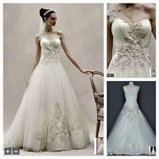 oleg cassini wedding dress oleg cassini 6 women s size wedding dresses ebay
