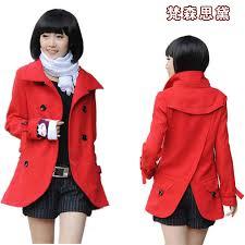 Womens Winter Coats Plus Size Online Get Cheap Plus Size Pea Coats Women Aliexpress Com