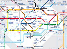 underground map zones maps map harry beck and map design