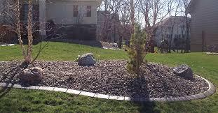 decorative concrete lawn edging brilliant borders