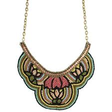 bib necklace flower images 61 bib necklace vishnu emerald mix stone crystal glam statement jpg