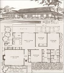 Western Ranch House Plans Mid Century Modern House Plans Modern Homes Modern