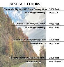 fall leaf color