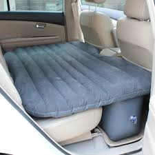 inflatable car back seat air bed cushion mattress pillow k colly
