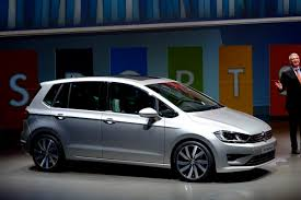 volkswagen minivan 2014 new sportsvan is volkswagen u0027s longer taller and slightly more