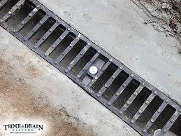 trench drain systems tupper horse barn drain