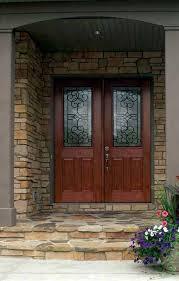 Fiberglass Exterior Doors With Glass Fiberglass Entry Doors Exterior Traditional With Doors Doors Entry