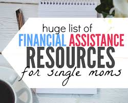 financial assistance for single