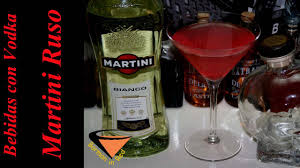 red martini bottle vodka drinks russian martini youtube
