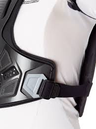 thor black silver 2017 guardian mx chest protector thor