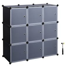 6 Cube Step Storage by Amazon Com Songmics 3 Tier Diy Storage Cube Organizer Closet 9