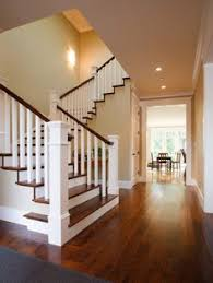 craftsman staircase transitional staircase houston