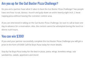During Challenge Boy S 28 Gut Buster Challenge W Colorado Ave