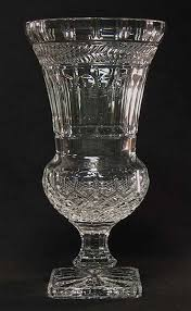 Antique Lead Crystal Vase The Handpicked Vase