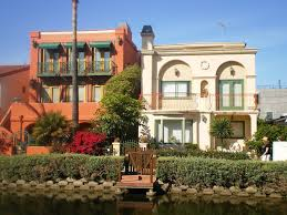 venice canal historic district in los angeles california places