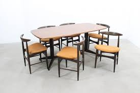 mid century dining table u0026 chairs set for sale at pamono