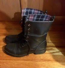 womens black combat boots size 9 size 9 black combat boots ebay
