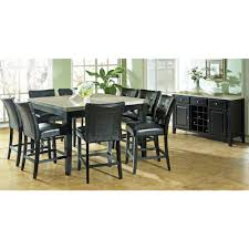 9 Pieces Dining Room Sets 9 Piece Counter Height Dining Room Set