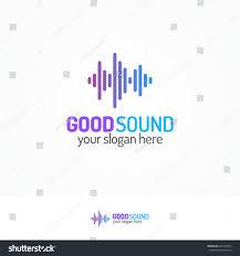 good sound logo set line modern stock vector 603164432 shutterstock