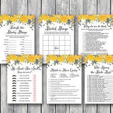 Wedding Shower Games Wedding Shower Game Printable Bridal Shower Game
