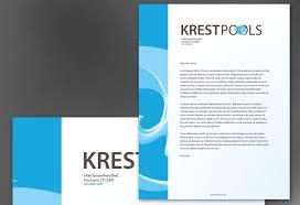 template for letter head letterhead template for pool company order custom letterhead design pool company letterhead design layout