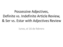 using adjectives as nouns ppt video online download