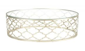 Quatrefoil Side Table Side Table Quatrefoil Side Table Coffee Silver Acrylic