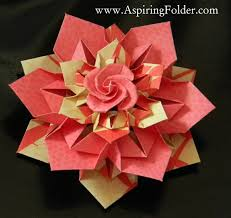 Origami Modular Flower - 27 best origami modular images on pinterest origami modular