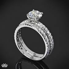 wedding band with engagement ring wedding engagement rings wedding promise diamond engagement