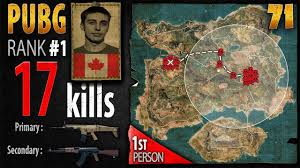 pubg rankings pubg rank 1 shroud 17 kills solo 1st person playerunknown s