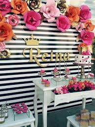 themed party la reina kate spade birthday themed party for reina