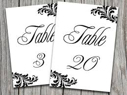 free table number templates table number templates for word victorian wedding victorian wedding