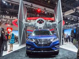 nissan rogue 2017 interior 2017 nissan rogue one star wars limited edition bows kelley blue