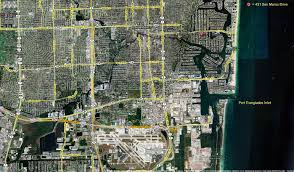 Map Of Ft Lauderdale Waterfront Home For Sale Las Olas Isles Fort Lauderdale Florida