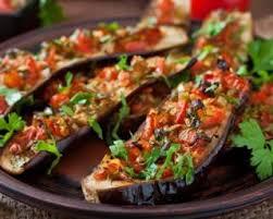 comment cuisiner aubergine recette de aubergines grillées croq kilos aux tomates ail et paprika
