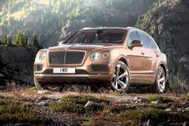 suv bentley white bentley suv offers optional 170 000 clock