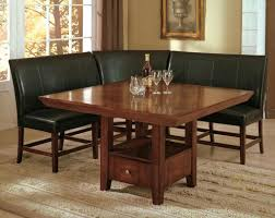 dining room set with bench kitchen table with bench seat mksete com