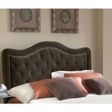 Fabric Nailhead Headboard Beds Headboards Script Nailhead Upholstered Headboard Full Queen