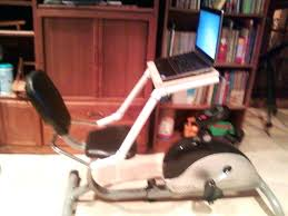 Diy Bike Desk Desk Exercise Bike Desk Diy Laptop Desk For Stationary Recumbent