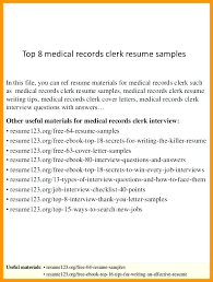resume exles entry level accounting clerk interview answers office clerical resume