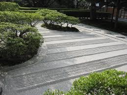 outdoor cozy zen garden ideas with small seating area zen garden
