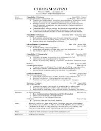 Post Office Resume Sample by Assistant Production Assistant Resume Template