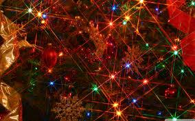 christmas tree lights uhd desktop wallpaper for ultra hd 4k 8k