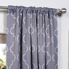 Seville Curtains Half Price Drapes Seville Geometric Blackout Thermal Rod Pocket