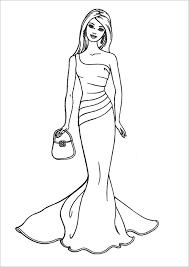 barbie dress coloring pages coloring pages design ideas