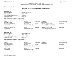 8 social security representative payee report form progress report