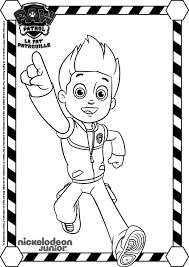 paw patrol 1 cartoons u2013 printable coloring pages