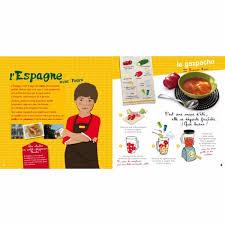 livre de cuisine enfant livre de recettes du monde pour enfant