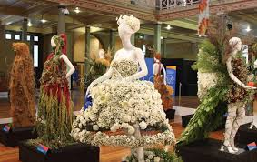 melbourne flower and garden show gets off to colourful start