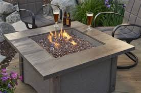 outdoor greatroom fire table outdoor greatroom pine ridge square gas fire pit table